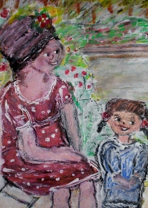 Mother and Child in Park (214x300)